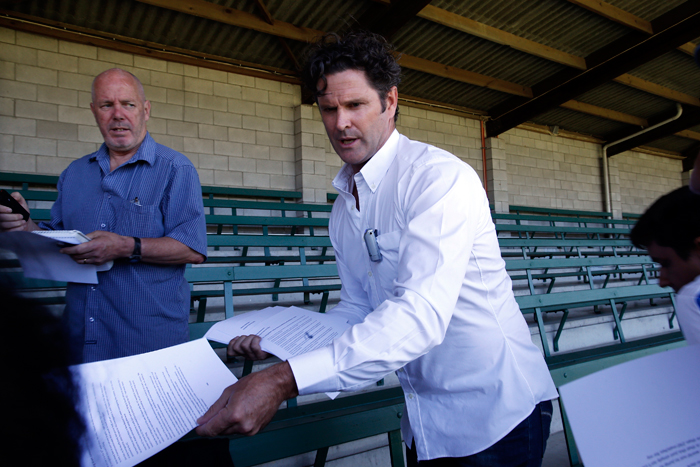 Chris Cairns now drives a municipal truck and washes bus-stands after his retirement from cricket.