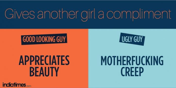 Handsome Guy vs Ugly Guy