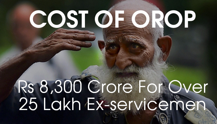 Cost of OROP