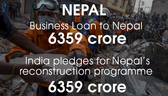 Nepal money granted by India