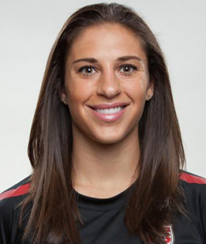 Carli Lloyd excelled in football right from a very young age.
