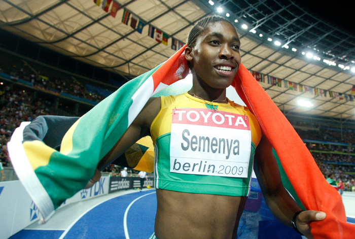 Caster Semenya also failed a gender test but South Africa backed her and her medal was reinstated to her.