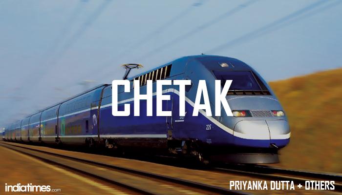 Chetak Indian Bullet train