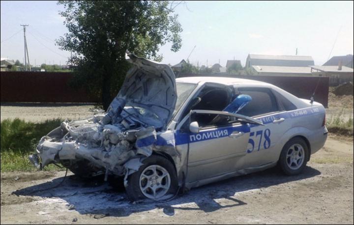 Russian collision