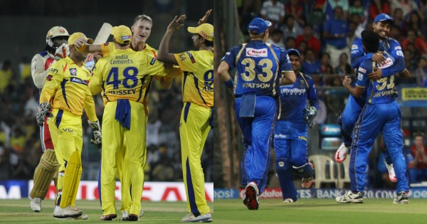 CSK and RR have been suspended from the IPL for two years