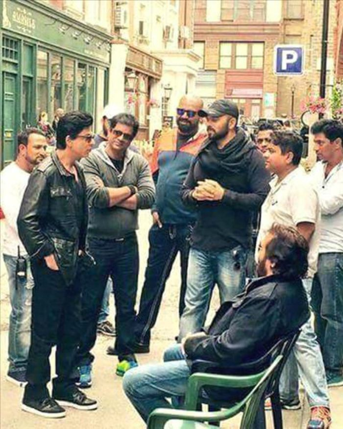 SRK Vinod Khanna