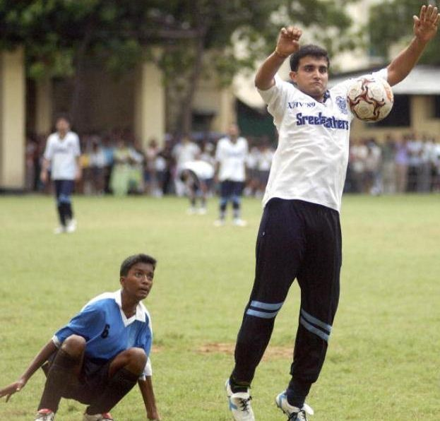 Rare Pictures Of Sourav Ganguly
