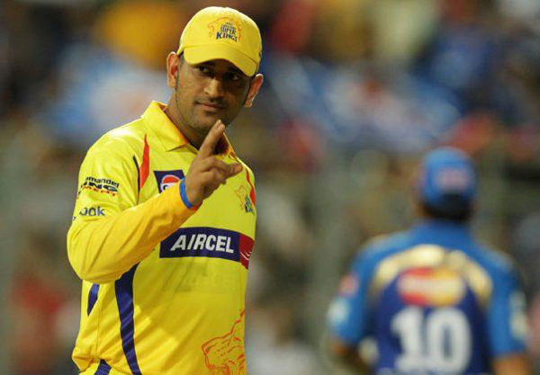 Dhoni CSK out