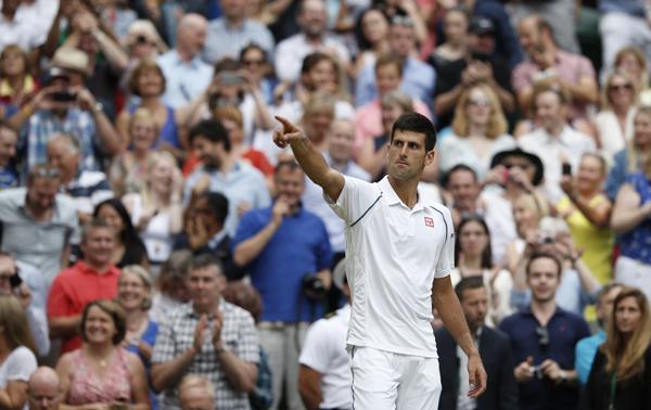 Djokovic Federer 2015 Wimbledon