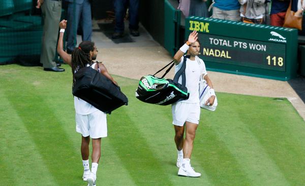 Dustin Brown Rafael Nadal