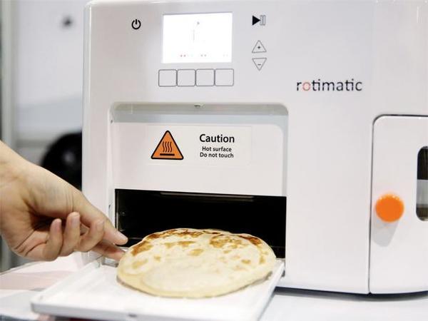 roti making robot
