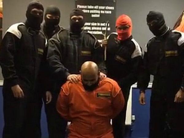 fake ISIS beheading hsbc