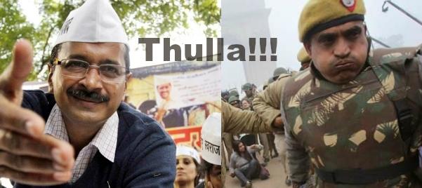 kejriwal thulla