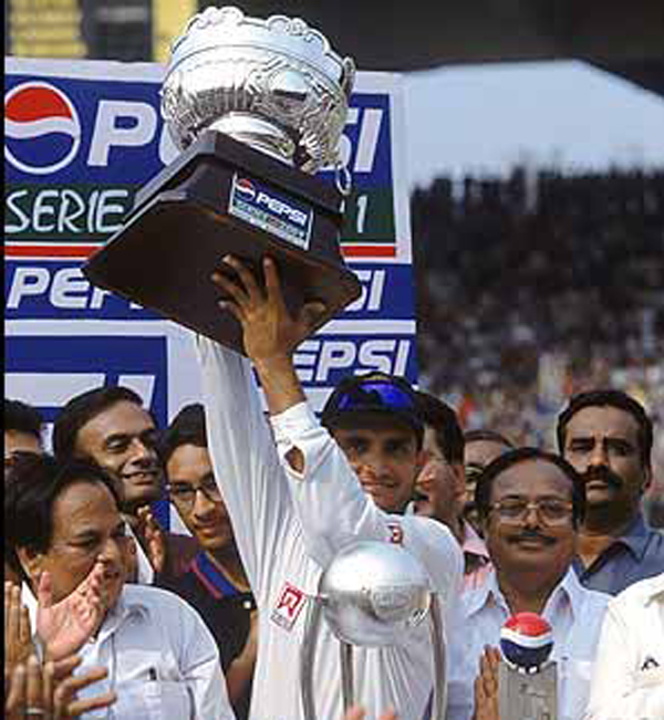 Ganguly 2001 Trophy