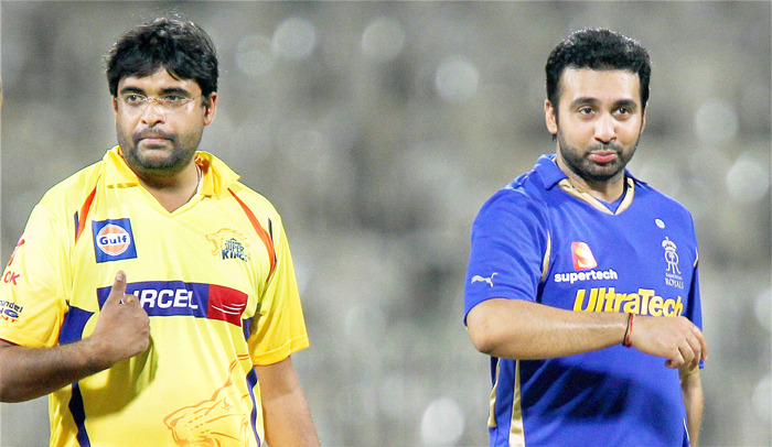 Chennai Super Kings and Rajasthan Royals have been suspended from the IPL for two years.
