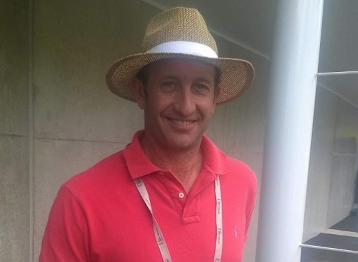After retiring from cricket, Chris Harris is now a medical sales representative.