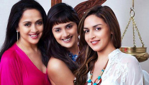 Hema Malini and daughters