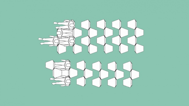 Hexagon Flight Seats