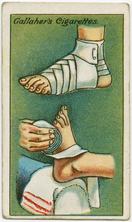 How To Bandage A Foot