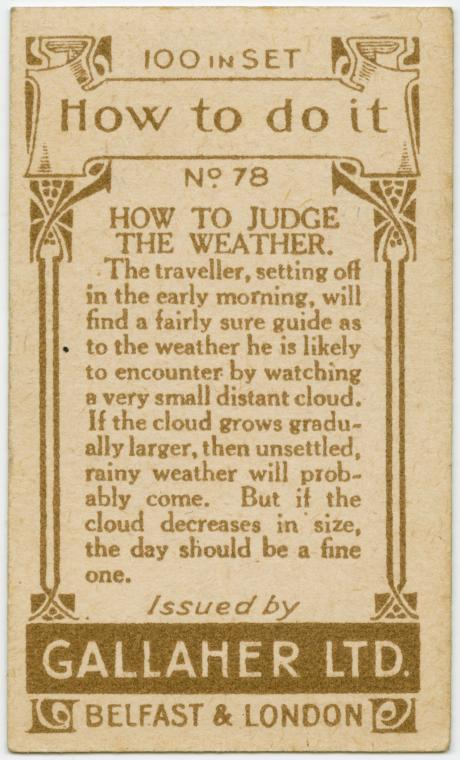 How To Judge The Weather