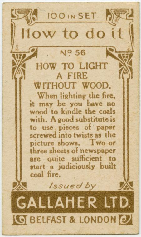 How To Light A Fire Without Wood