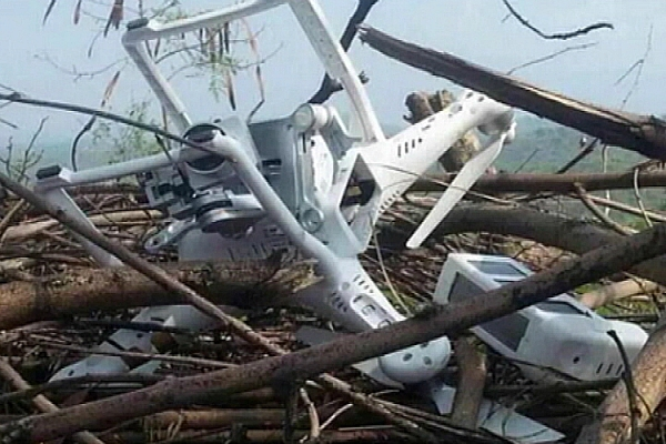 spy drone india pakistan