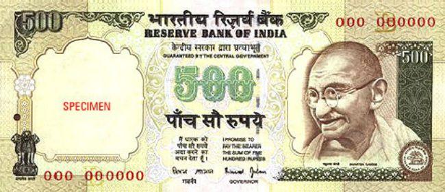 500-Rupee Notes Rain Down Near Banke Bihari Temple