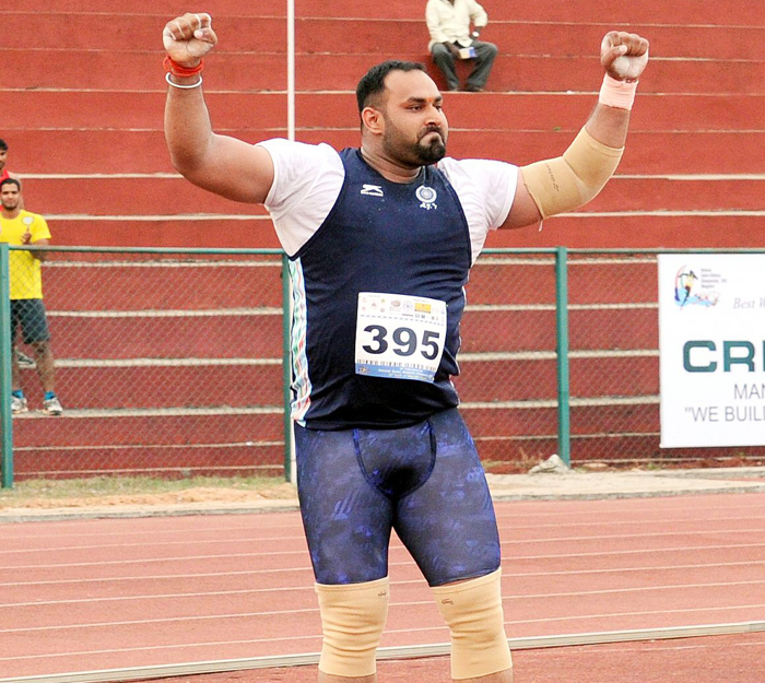 Inderjeet Singh won his sixth gold medal in the last two months.