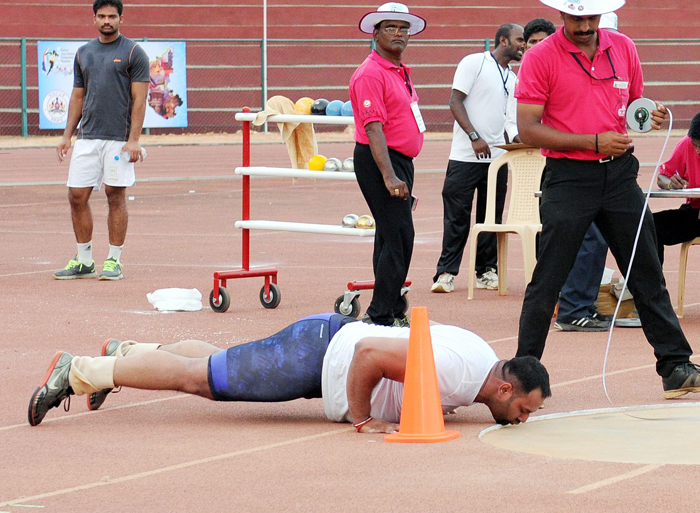 Inderjeet has also secured qualification for the 2016 Rio Olympics.