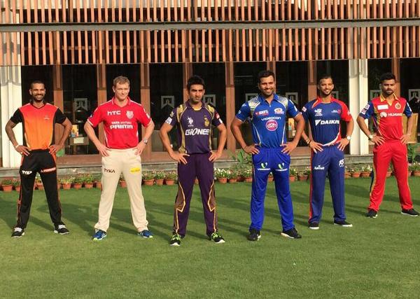IPL 6 captains