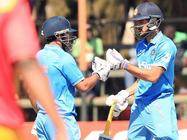 India vs Zimbabwe Kedar Jadhav Manish Pandey