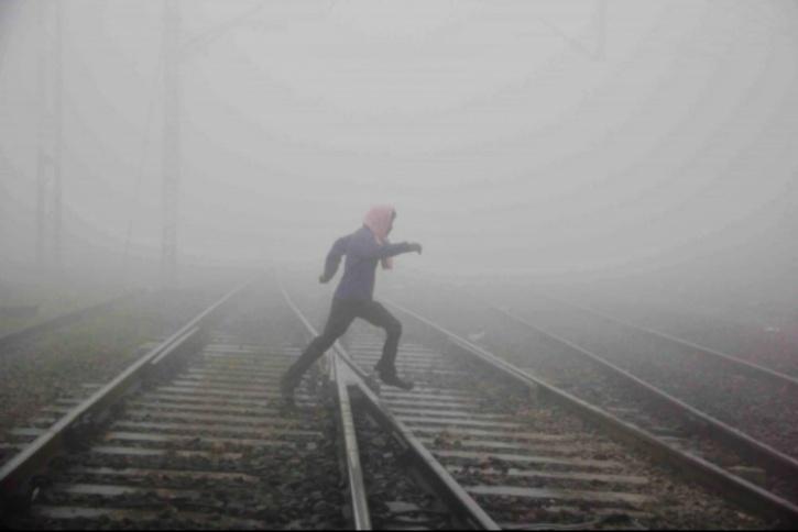 Allahbad railway crossing
