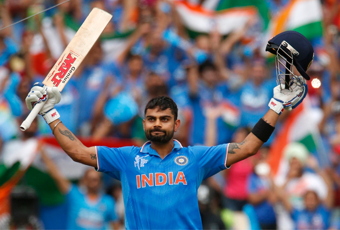 Kohli's last series was against Bangladesh.