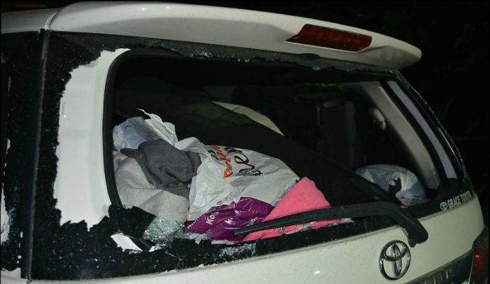 Leh Tourist Vehicle Attacked
