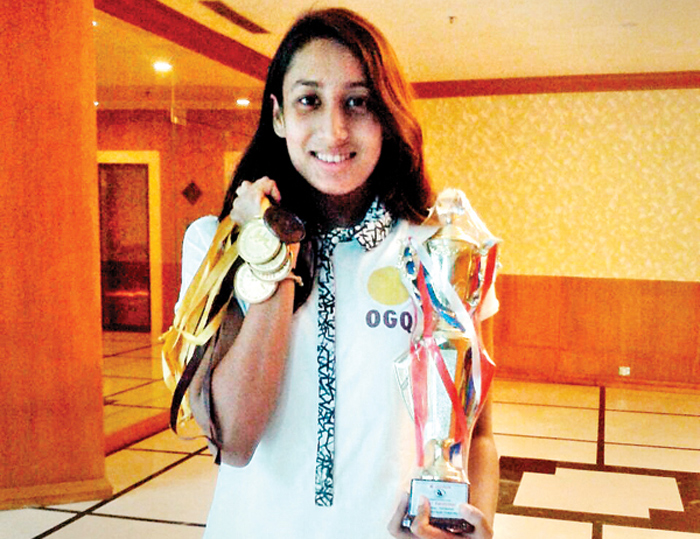 Maana Patel has been roped in by the Olympic Gold Quest.