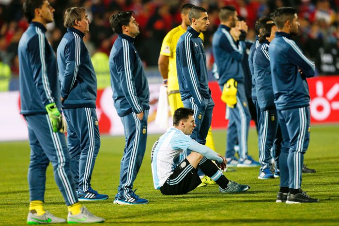 Lionel Messi and Argentina's wait for an international trophy continued