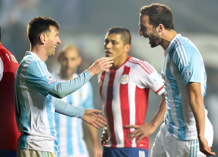 Lionel Messi was the star in Argentina's massive win over Paraguay.