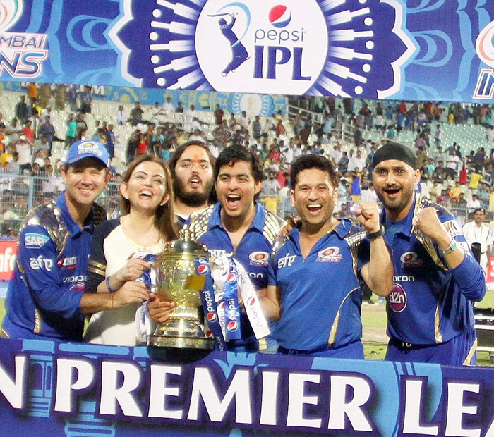 Mumbai Indians were allowed to play five foreigners in the 2011 CLT20.