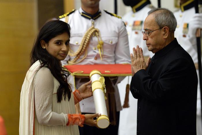 Mithali Raj has won the Padma Shri and the Arjuna award.