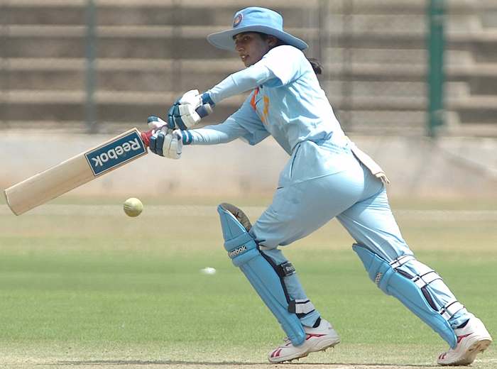 Mithali became the second player to go past 5000 runs in ODIs.