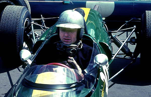 Gerhard Mitter in his Lotus F2