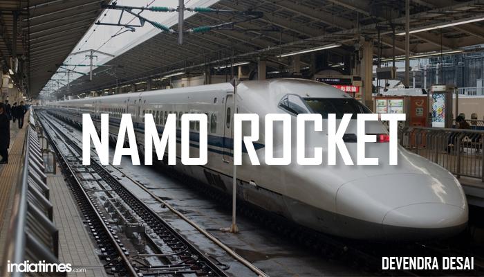 Namo rocket indian bullet train names
