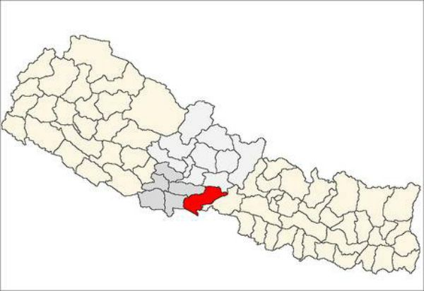 The Nawalparasi district, where the alleged murder took place.