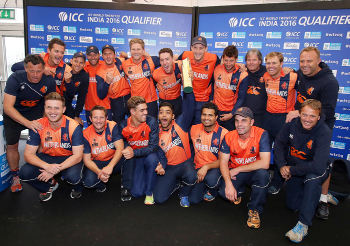 Netherlands and Scotland shared the ICC World Twenty20 qualifier trophy.