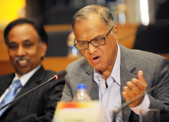 No invention, earth shaking idea from India in 60 years: NR Narayana Murthy