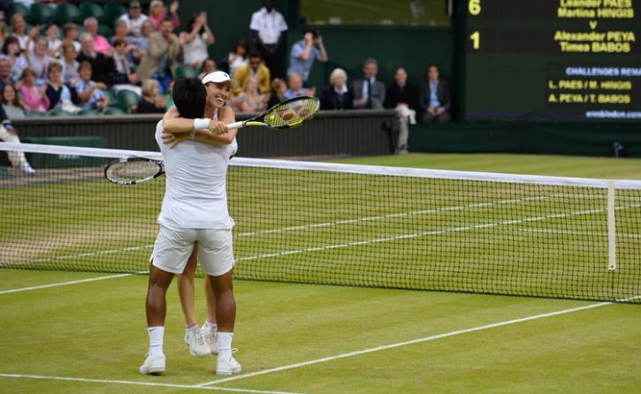 Leander Paes 2015 Wimbledon
