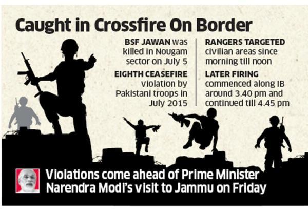 pakistan ceasefire cross fire