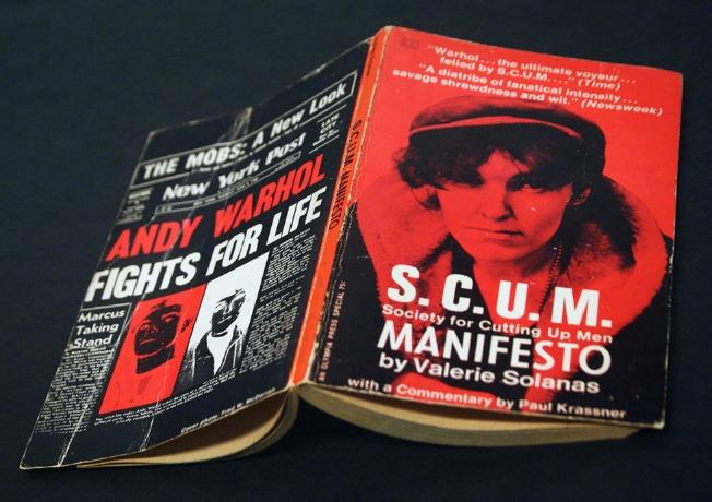 Valerie Solanas wrote the SCUM manifesto