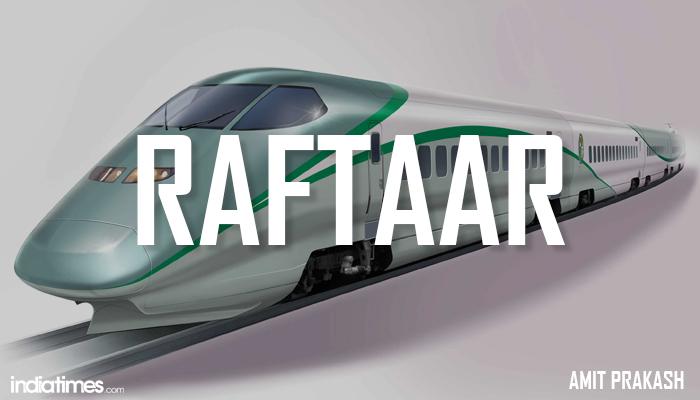 Raftaar- indian bullet train names