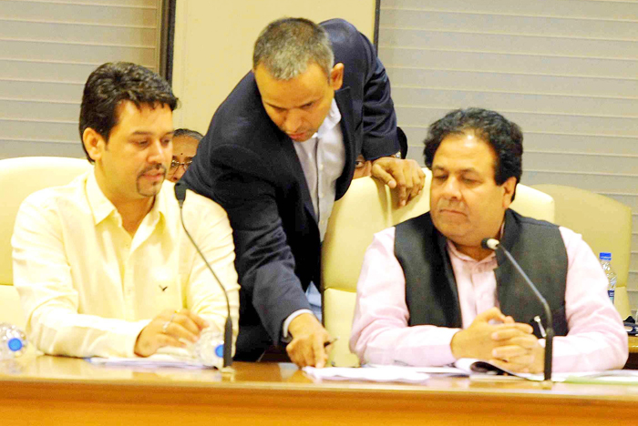 IPL chairman Rajeev Shukla has said that there will be no decision on CSK and RR today.